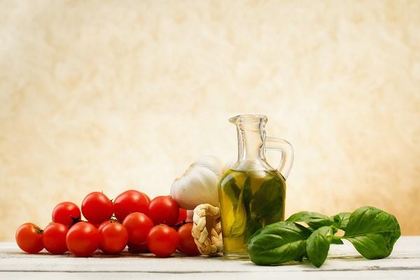traditionele italiaanse ingredienten